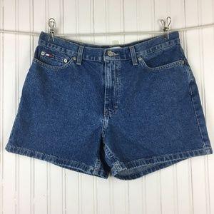 Tommy Hilfiger Boyfriend Jean Shorts Medium Wash